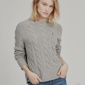 Polo Like 🆕️ Ralph Lauren Gray Knit Sweate